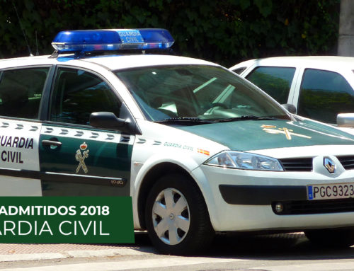 Listas de Admitidos Guardia Civil 2018