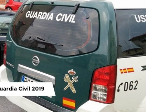 OPE Guardia Civil 2019 – 2.210 plazas
